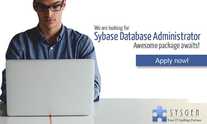 Sybase Database Administror