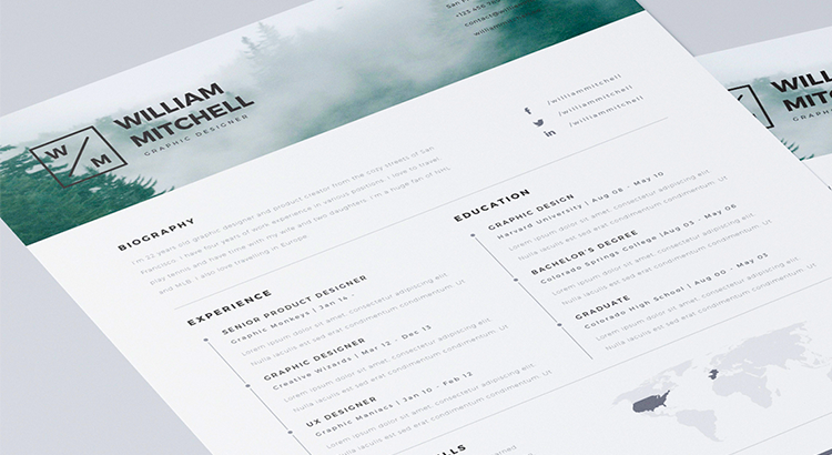 10 Free Classic And Creative Resume Templates