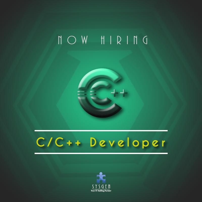 Hiring C Developer