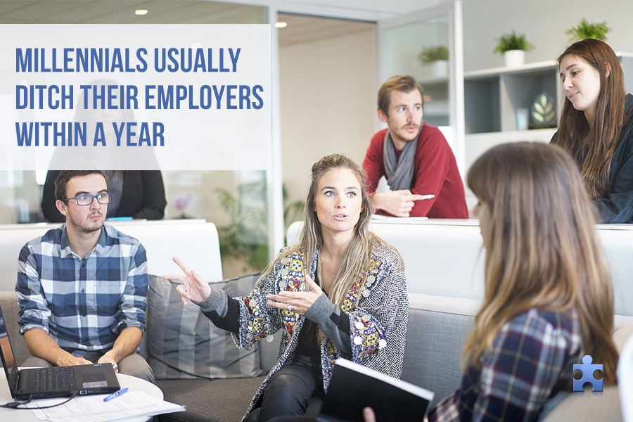 These Are The Reasons Millennials (Usually) Ditch Their Employers Within a Year